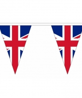 Polyester slinger met verenigd koninkrijk vlaggetjes