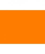 Polyester vlag in de kleur oranje