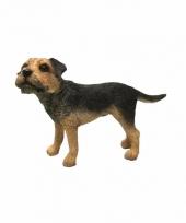 Polystone beeld border terrier 11 cm