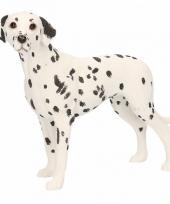 Polystone beeld dalmatier hond 14 cm