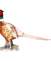Polystone beeld fazant 52 cm