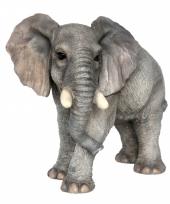 Polystone beeldje olifant 44 cm