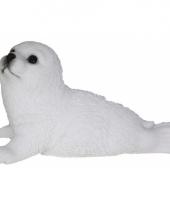 Polystone tuinbeeld zeehond 18 cm