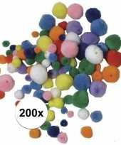 Pompons kettingen maken setje 10107812