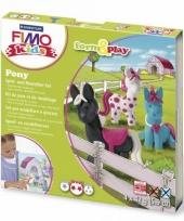 Pony hobby pakket fimo kids
