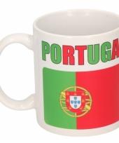 Portugese vlag koffiebeker