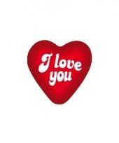 Poster in een hart vorm