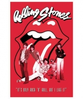 Poster rolling stones band 61 x 91 5 cm