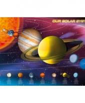 Poster zonnestelsel 61 x 91 5 cm