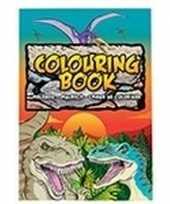 Prehistorische dieren a4 kleurboeken dino 24 paginas met kleurplaten
