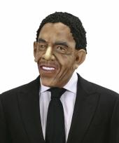President obama pruik met masker