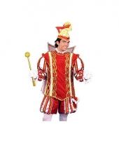 Prins carnaval pak voor heren