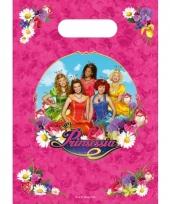Prinsessia thema feestzakjes 6 stuks