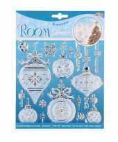 Raam decoratie stickers kerstbal