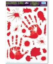 Raam halloween stickers handprint
