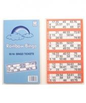 Rainbow bingokaarten