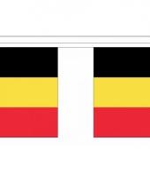Rechthoekige vlaggenlijn belgie