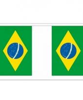 Rechthoekige vlaggenlijn brazilie