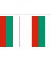 Rechthoekige vlaggenlijn bulgarije