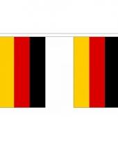 Rechthoekige vlaggenlijn duitsland