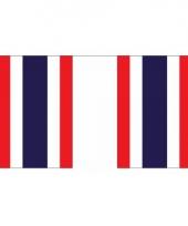 Rechthoekige vlaggenlijn thailand