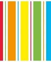 Regenboog kleuren servetten 40 stuks