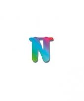 Regenboog letters n