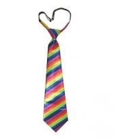 Regenboog stropdassen