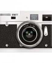 Retro design muurplaat camera 20 x 30 cm