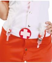 Riem met spuiten voor verpleegkundige