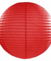 Rode bol lampion 50 cm