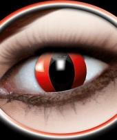 Rode katten ogen kleurlenzen