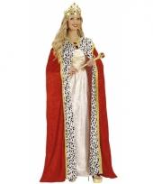 Rode koninginnen cape