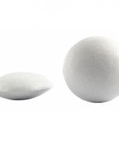 Ronde platte piepschuim ballen 10x