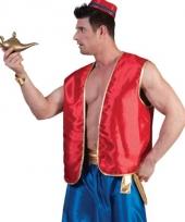 Rood arabieren vest voor dames en heren