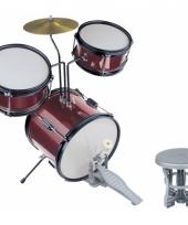 Rood professioneel drumsteel voor kinderen