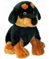 Rottweiler knuffeltje 31 cm