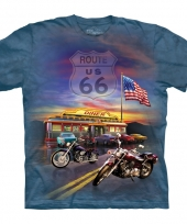 Route 66 shirt the mountain