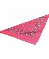 Roze boeren zakdoeken