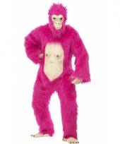 Roze gorilla bodysuit deluxe