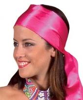 Roze hoofdsjaals