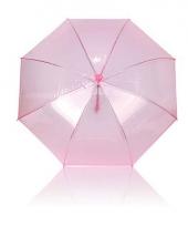 Roze meisjes paraplu plastic