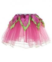 Roze met groene verkleed tutu voor meiden