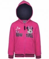 Roze minnie mouse meisjes sweater