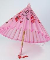 Roze paraplu 50 cm chinees