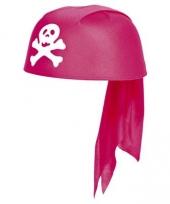 Roze piraten hoeden voor meisjes