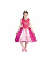 Roze prinses roos jurk voor meiden