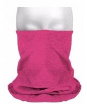 Roze sjaaltjes