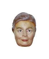 Rubberen clinton masker