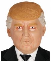 Rubberen donald trump masker